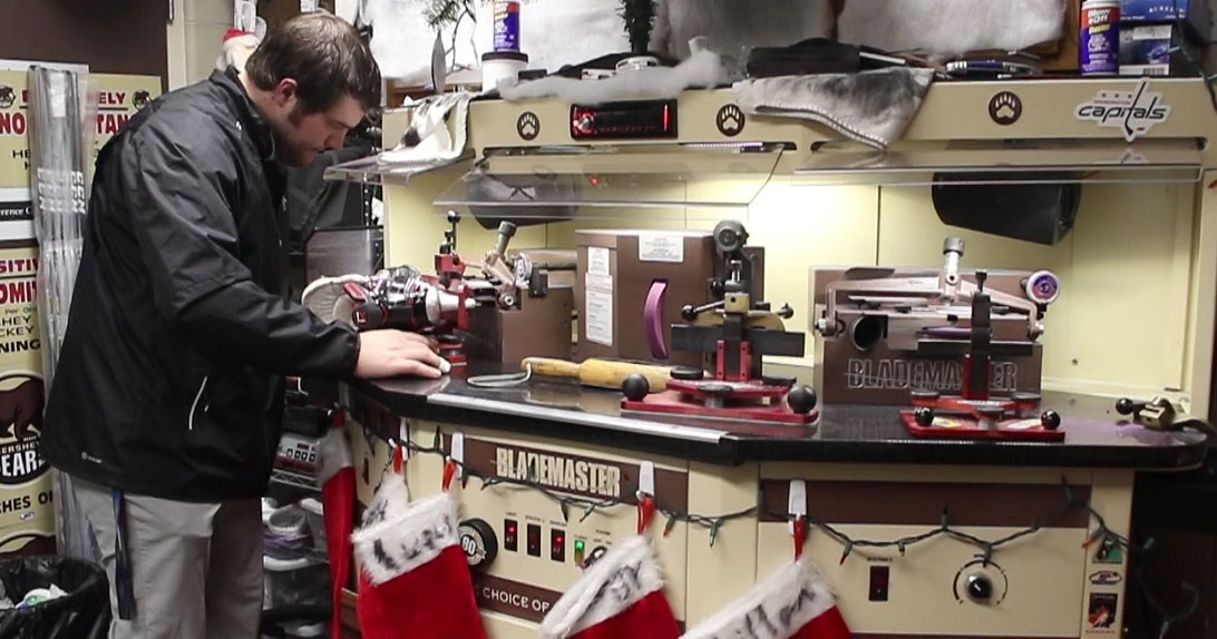 21-minute Behind the Scenes video with Hershey Bears equipment team premiering Wednesday night