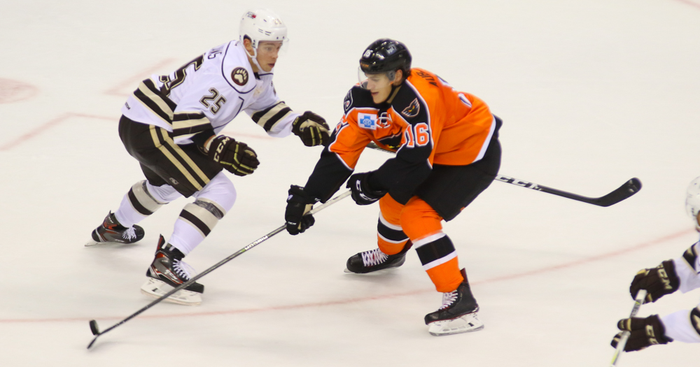 Hershey Bears lose to the Lehigh Valley Phantoms in a shootout, 4-3