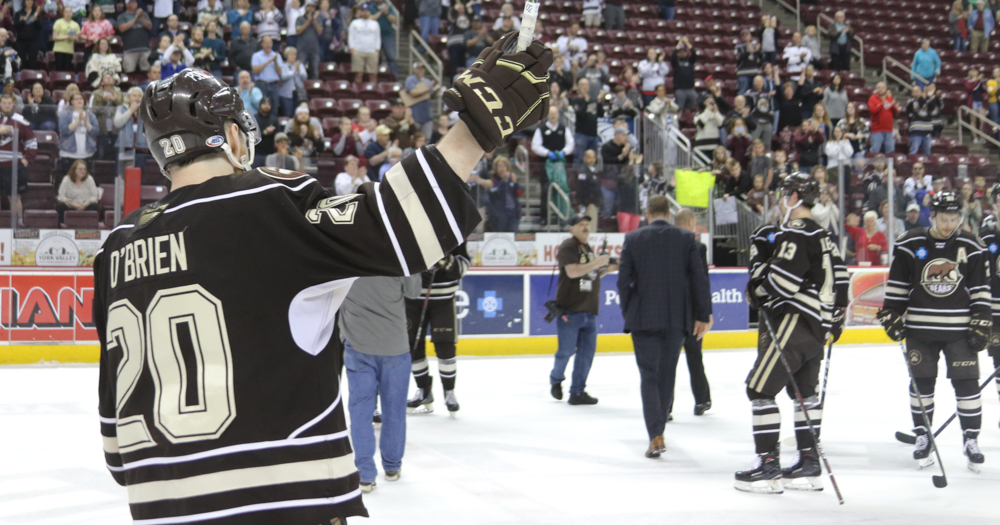 Liam O'Brien – Hershey Bears end of season interview