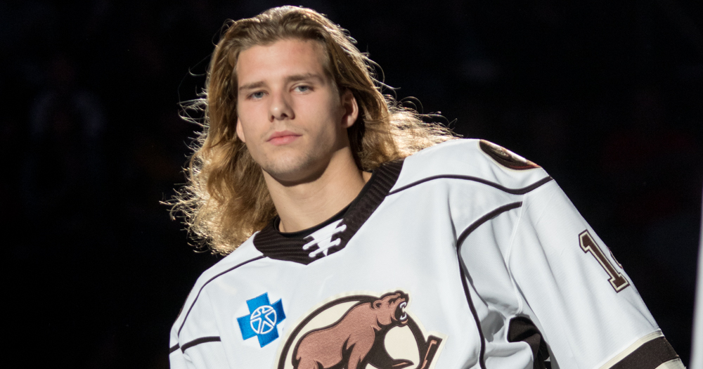 Axel Jonsson-Fjallby remains on Hershey roster