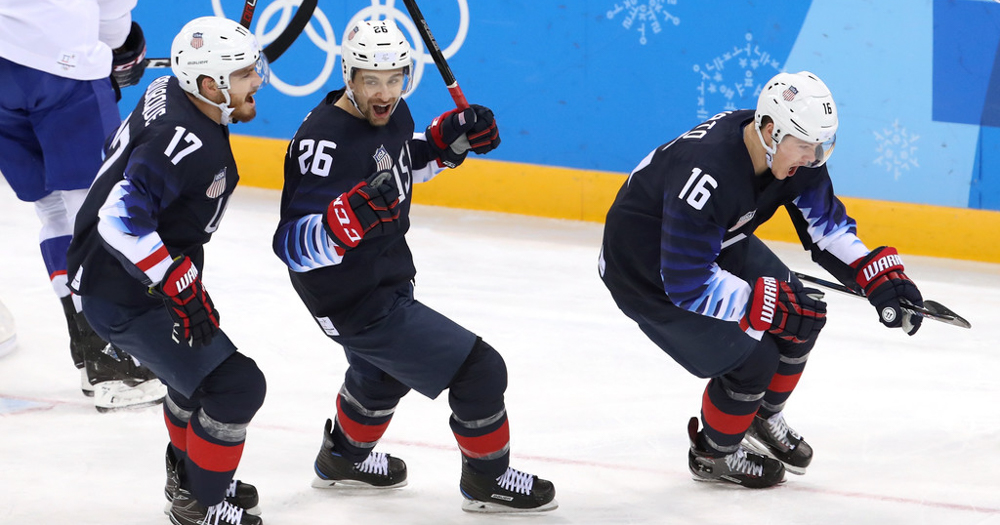 Chris Bourque records two assists in USA win over Slovakia