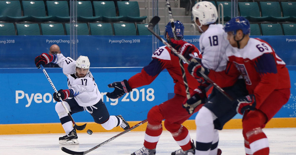 Team USA's gold medal dreams end with shootout loss to Czech Republic