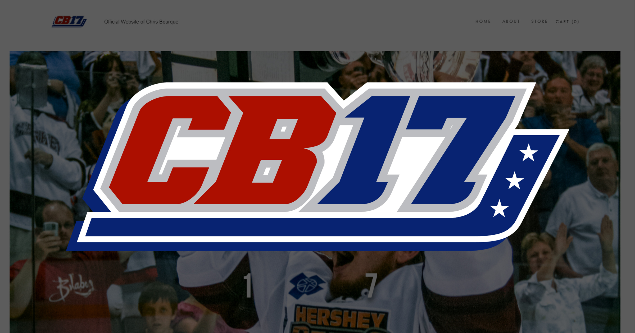 Chris Bourque Launches Official Website – ChrisBourque17.com