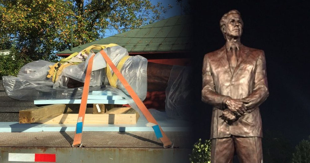 Local artist creates statue for late Flyers owner Ed Snider