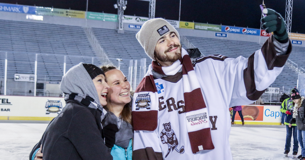 Hershey Bears Outdoor Hockey + Heels event provides unique opportunity for female fans