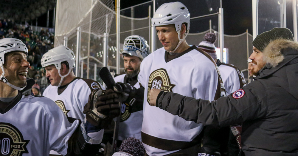 For Bourque and Mitchell, Hershey Bears Alumni Game provides great memories with former teammates