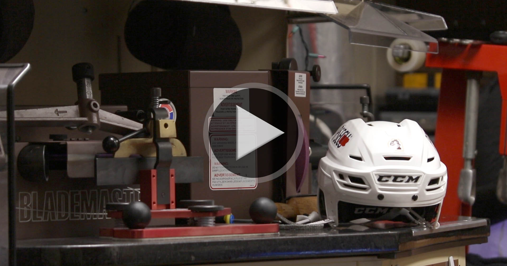 WATCH: A day in the life with the Hershey Bears equipment team