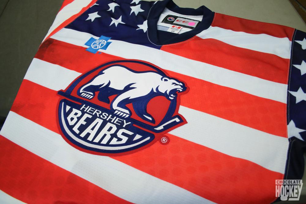 Hershey Bears Flag Jerseys 1