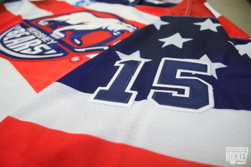 Hershey Bears Flag Jerseys 3