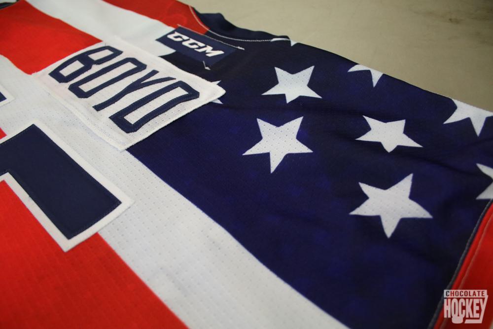 Hershey Bears Flag Jerseys 7