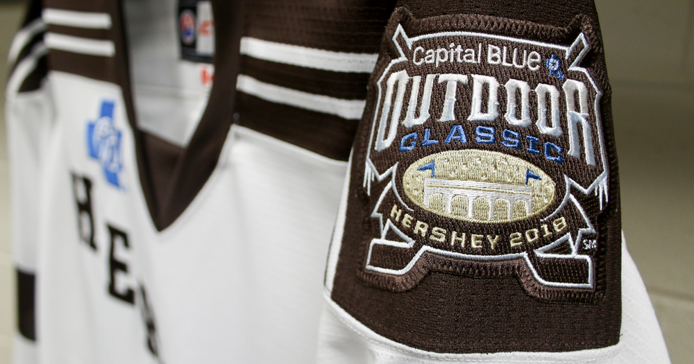First look at the Hershey Bears 2018 Outdoor Classic jerseys (Photo)