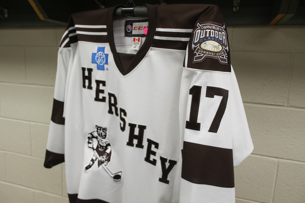 Hershey Bears Outdoor Classic Jerseys 2018 6