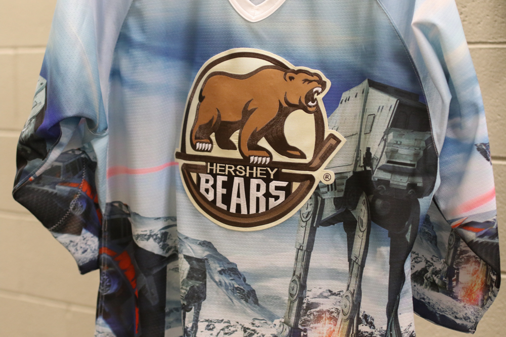 Hershey Bears Star Wars Jerseys 2018 – 1