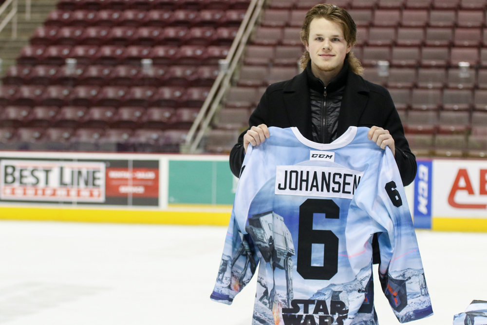 Hershey Bears Star Wars Jerseys 2018 Auction Record 2