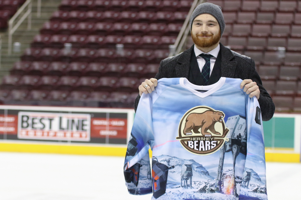 Hershey Bears Star Wars Jerseys 2018 Auction Record 3