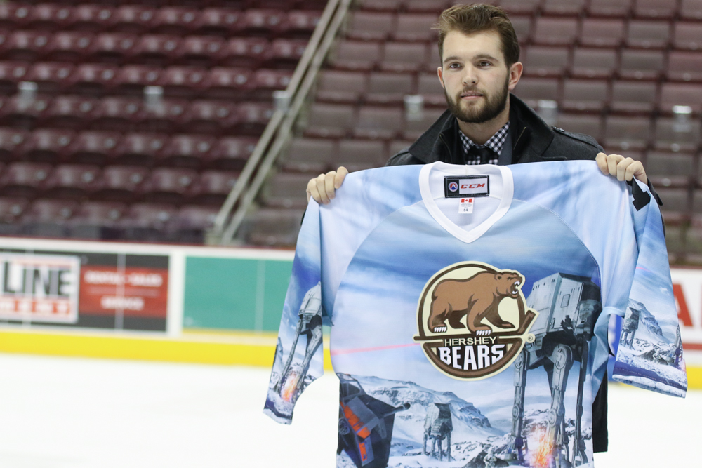 Hershey Bears Star Wars Jerseys 2018 Auction Record 4