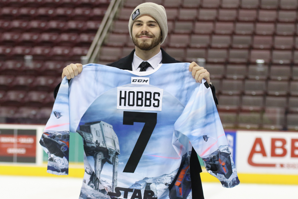 Hershey Bears Star Wars Jerseys 2018 Auction Record 5