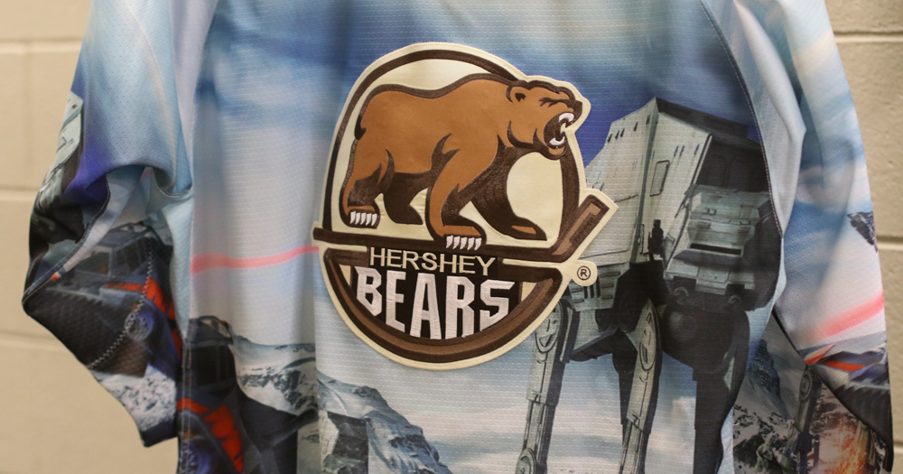 A closer look at the Hershey Bears 2018 Star Wars jerseys