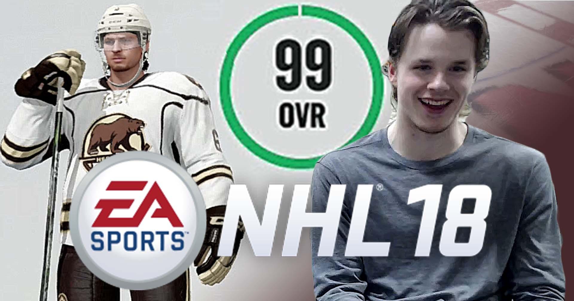 Chocolate Hockey Plays: NHL 18 With Lucas Johansen