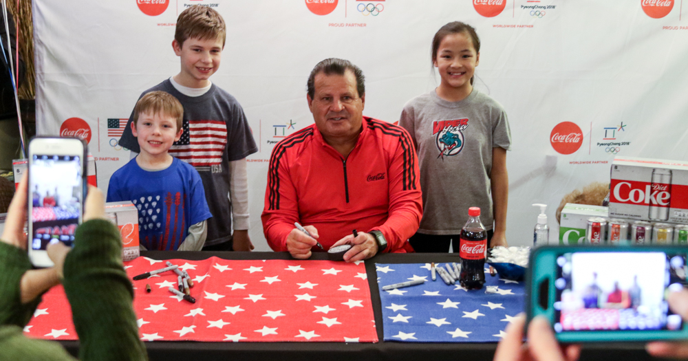 "Mike Eruzione on Chris Bourque: ""The kid can play"""
