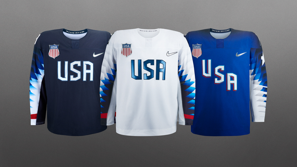 check out 9061e 45dc9 Nike unveils new hockey jerseys for the 2018 Olympics