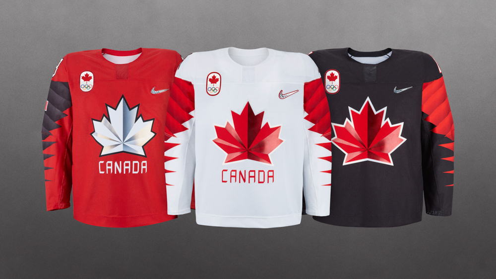 fae99a2df70 Nike unveils new hockey jerseys for the 2018 Olympics
