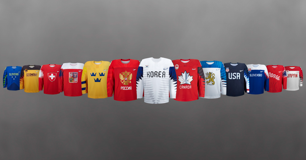 Nike unveils new hockey jerseys for the 2018 Olympics