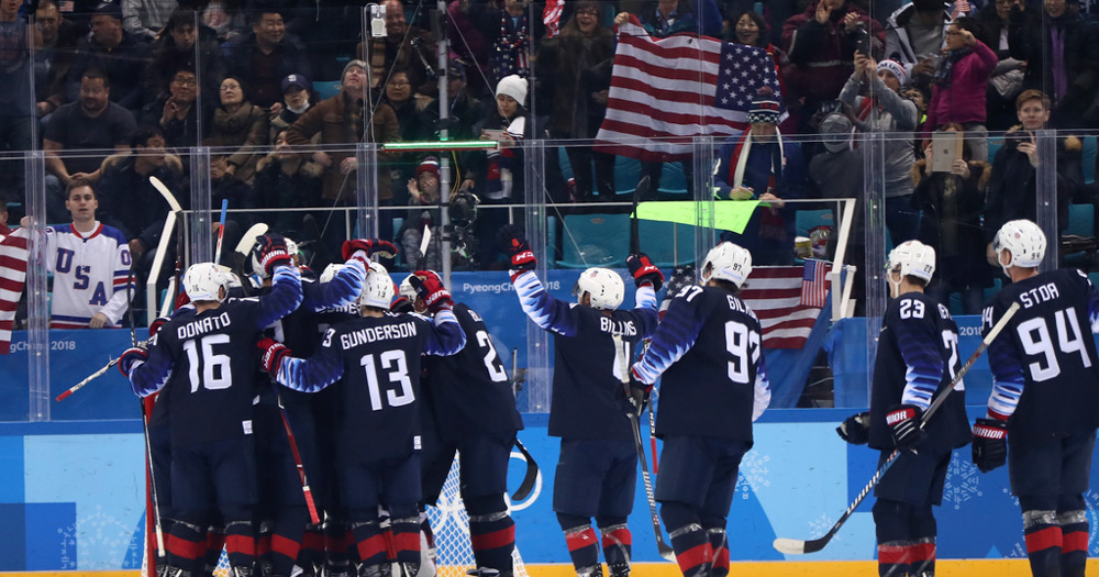 How to watch USA Men's Hockey Olympic game vs. Olympic Athletes from Russia – start time, TV network, online stream