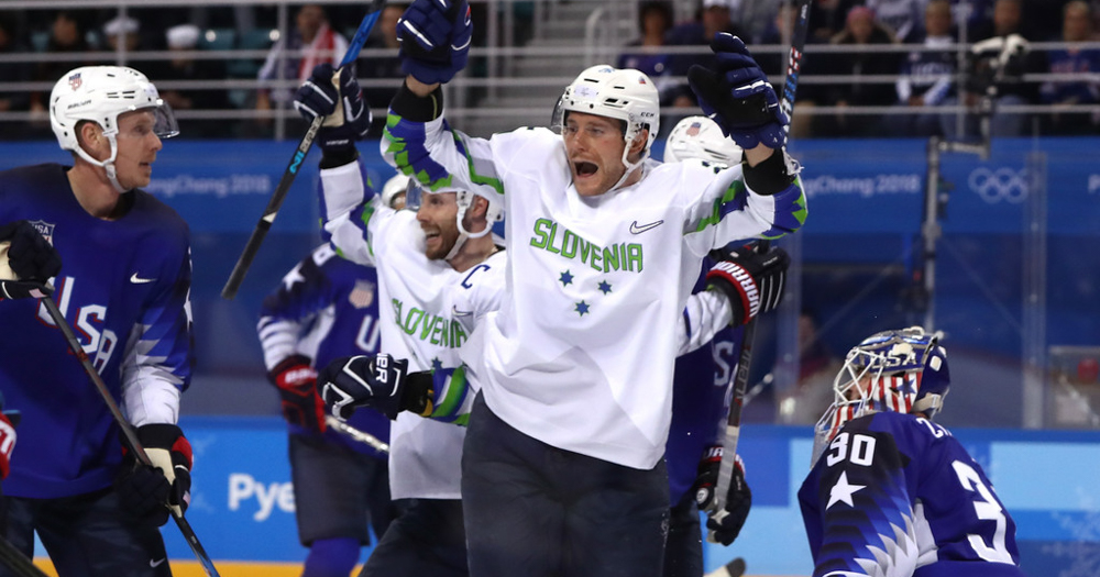 USA Hockey falls in overtime to Slovenia in Olympic opener